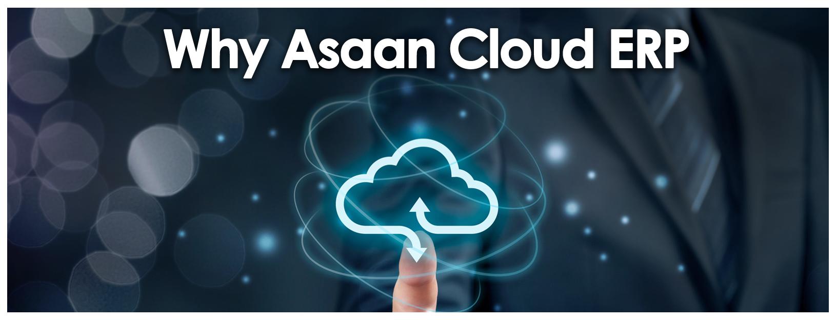 Why Aasaan Cloud ERP